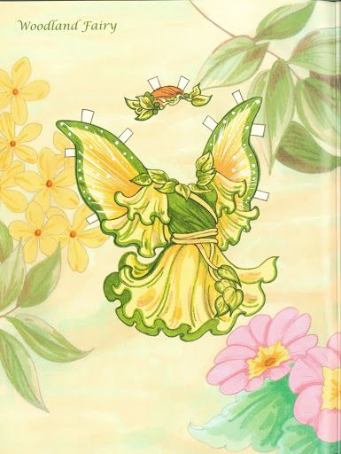 Fairy Paper Doll 08