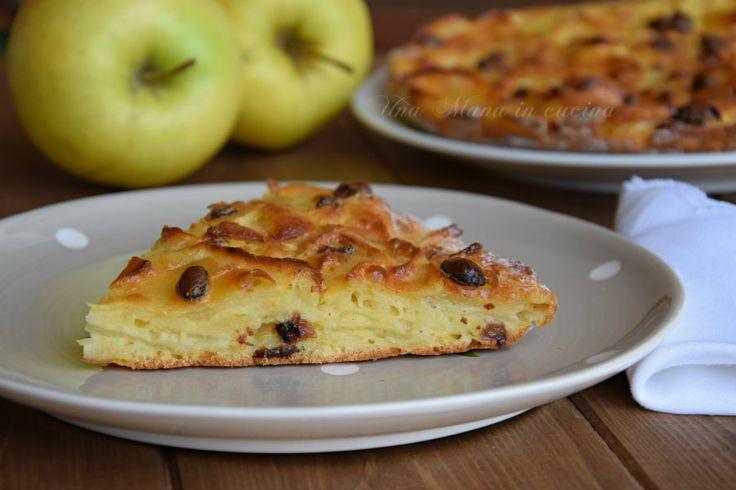dolce leggero alle mele, senza grassi e con poco zucchero