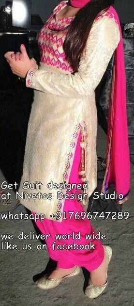 Punjabi salwar suit  Punjabi salwar suit  Punjabi Suits — for enquiry kindly…