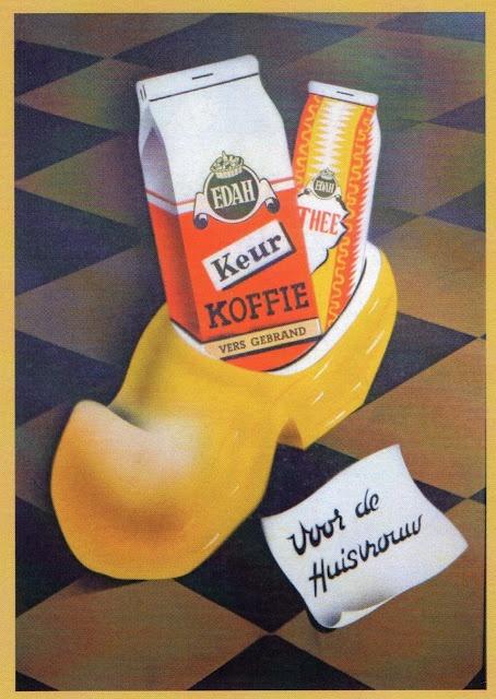 reclame vintage retro poster dutch coffee