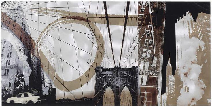 Schilderij mondial kenmerkt zich door het gebruik van for Schilderij op aluminium
