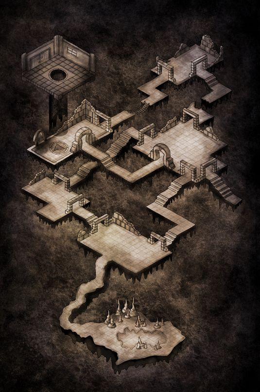 I will create a 3Ds MAX like this image for my final major project because more interesting with mazes or booby traps. Only 8 levels BUT I will try create one or two levels if have time for create more level.