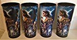 #6: Disney: Beauty and the Beast 2017 Four 44 oz Plastic Cups