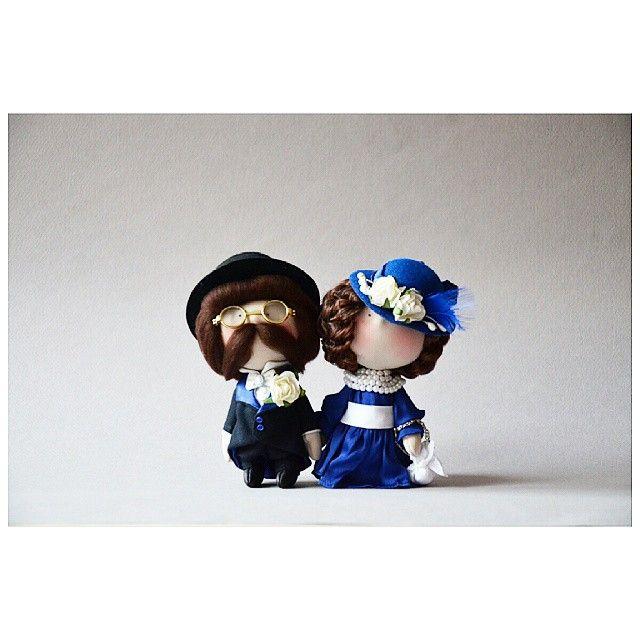 "273 Me gusta, 16 comentarios - Елена (@kooklook_gallery) en Instagram: ""Господин & госпожа Фон Дорн... Продан! #кукла #авторскиекуклы #ручнаяработа #творчество…"""