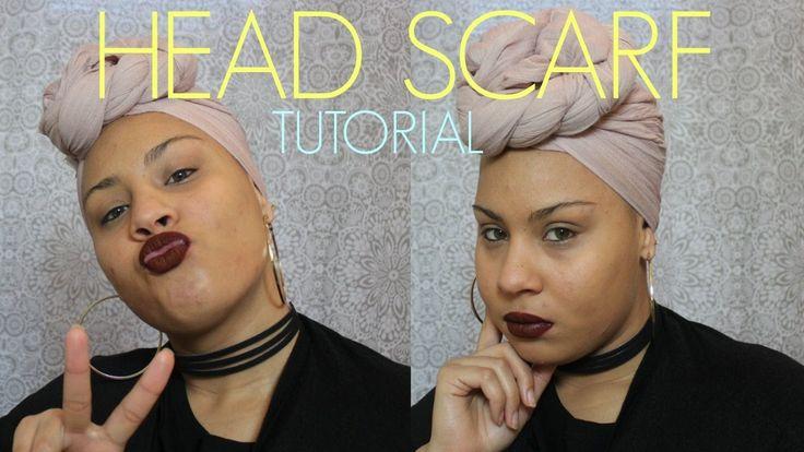 Best 25 Head Wrap Tutorial Ideas On Pinterest Head Wrap