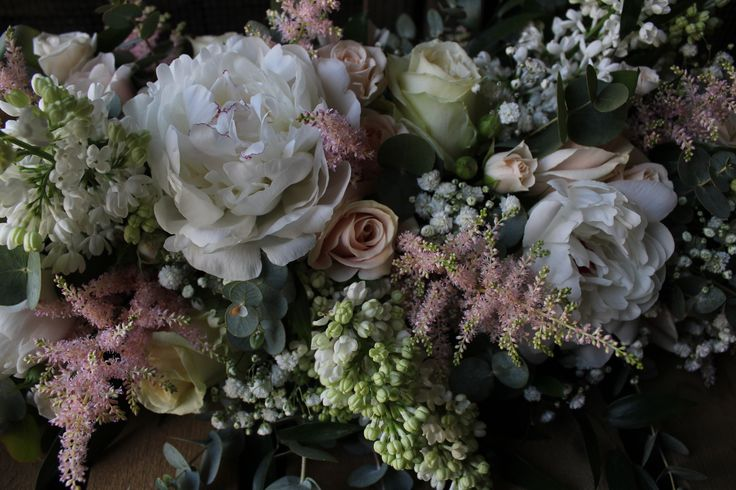 Pastel blooms. www.theflowermilldraycott.co.uk
