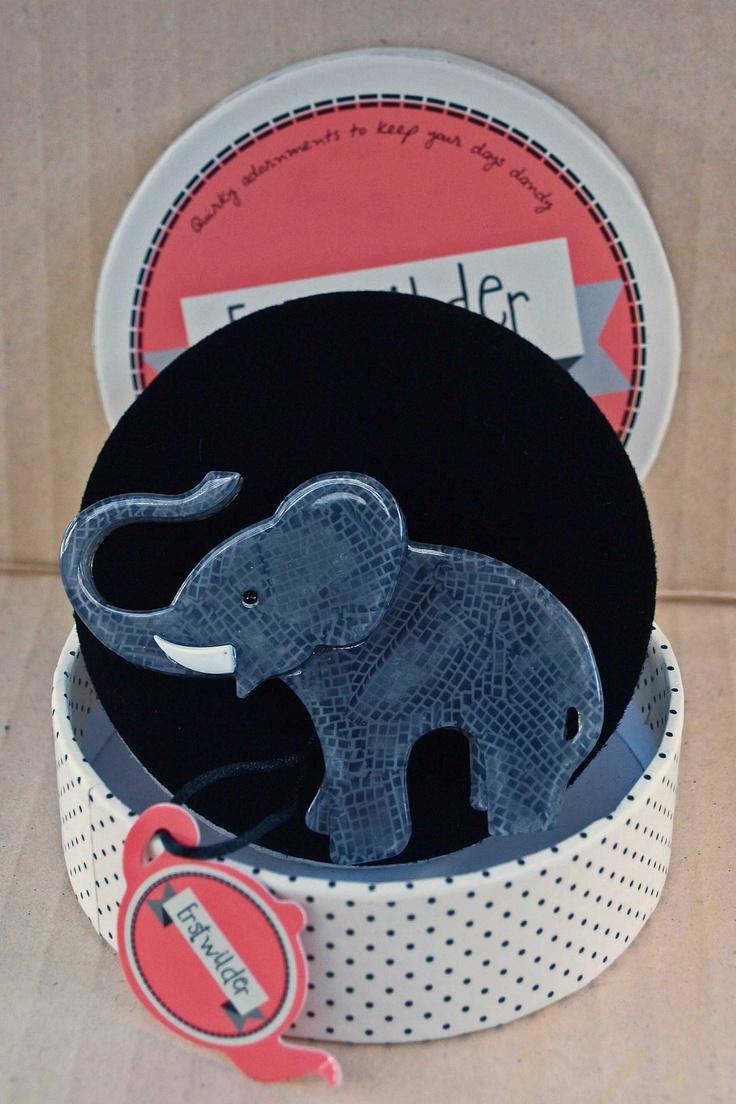 Erstwilder Elephant Brooch   eBay