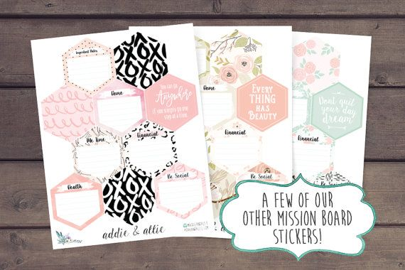 Inkwell Press Planner Stickers Inkwell Mission by AddieAndAllie