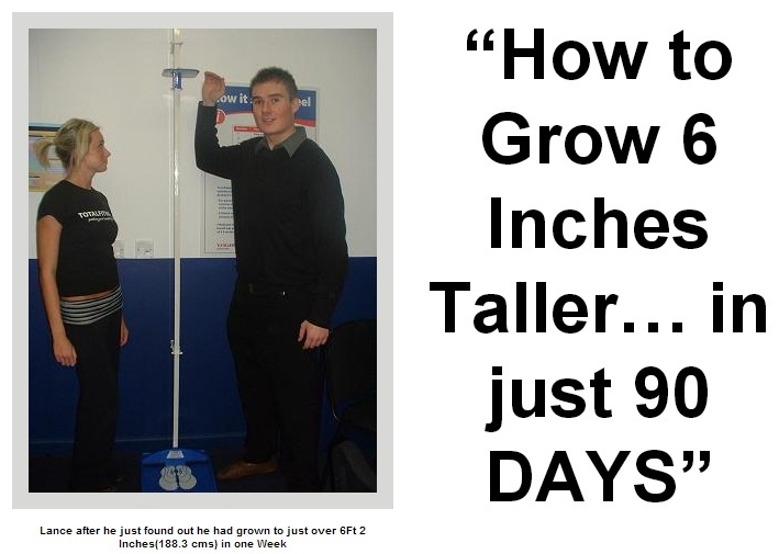 Easy Ways To Increase Height Naturally