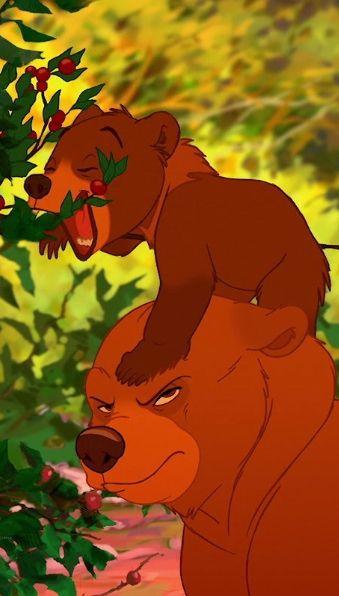 """""""Quel que soit ton choix, tu es mon petit frère pour toujours !"""" Frère des ours <3"""