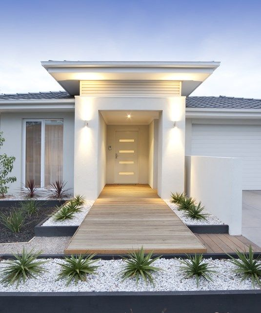 Modern Home Entrance, Modern Walkway Walkway and Path Landscaping ...