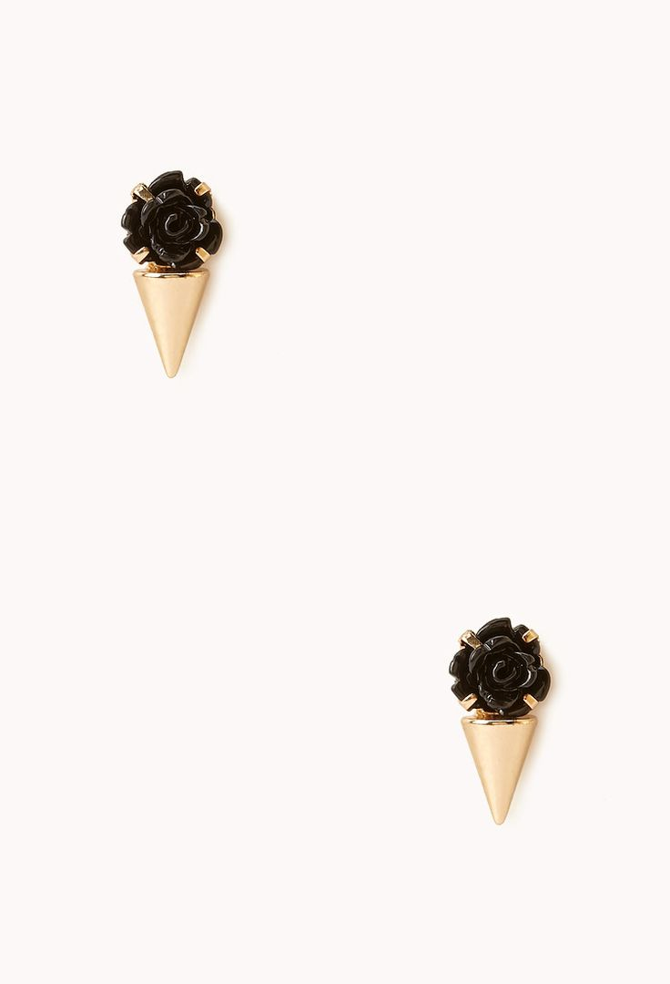 Thorny Rose Studs   Soleil & la lune.   Pinterest   Products, Studs ...