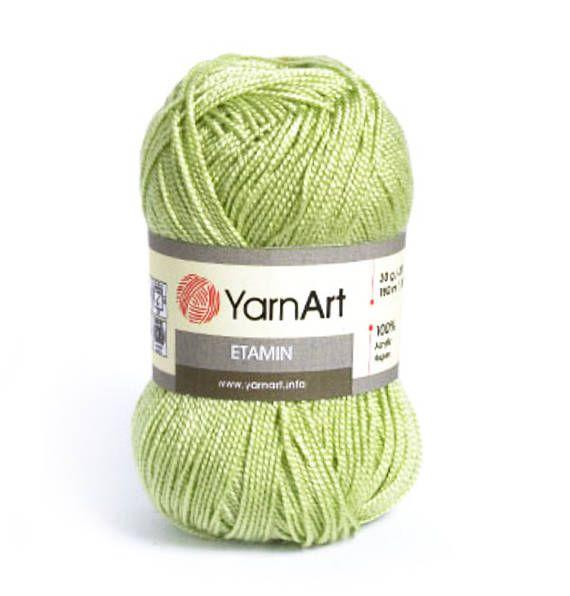 YarnArt Etamin kézzel kötött fonal akrilfonal színválaszték kézzel kötött horgolt nyári fonal tavaszi fonal lágy akril fonal fonal art etamin