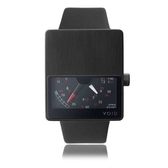"""VOID V01"" THE MINIMAL AND GEOMETRIC WATCH BY DAVID ERICSSON"