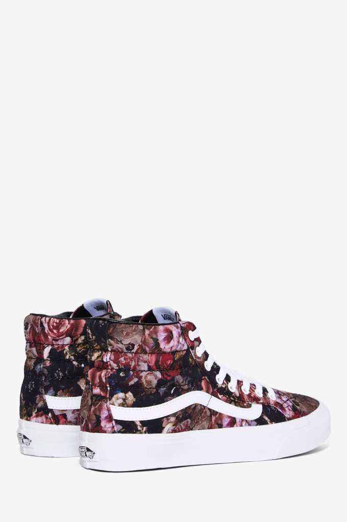 Vans Sk8-Hi Sneaker - Floral Canvas - Shoes | Sneakers