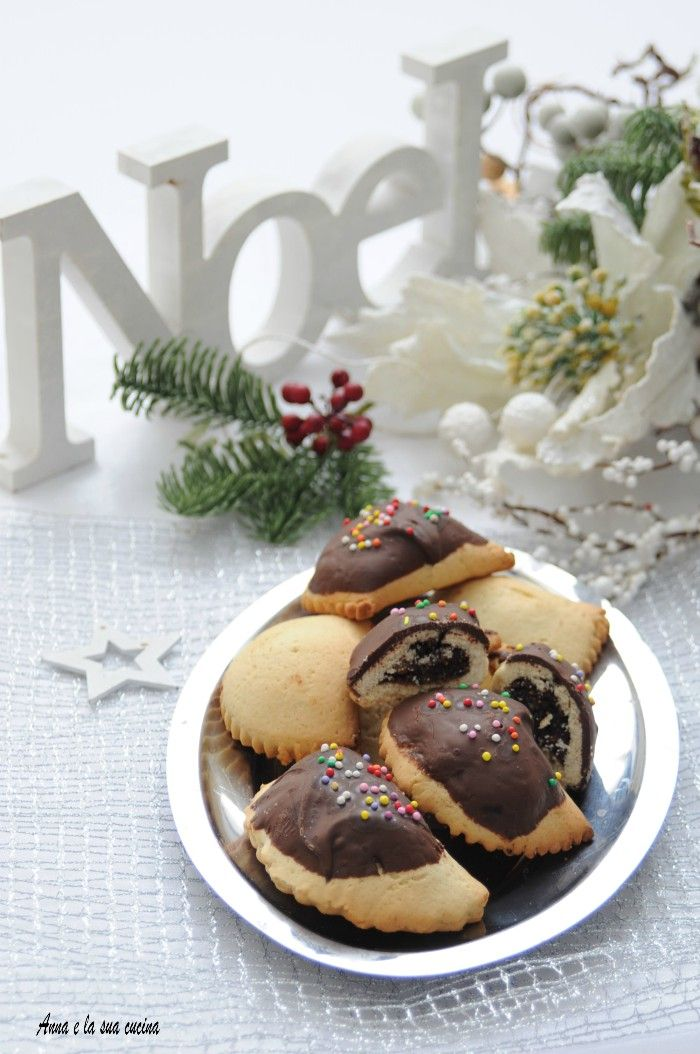 Dolci Natalizi Calabresi 4 I Petrali.Petrali Calabresi Con Cioccolato Anna E La Sua Cucina Dessert Mini Ricette Dolci Italiani