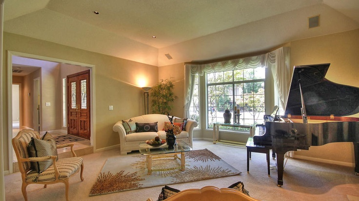 Formal Living Room With Baby Grand Piano Some Of My