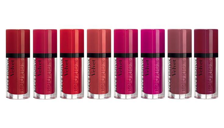 Pixiwoo.com: Bourjois Rouge Edition Velvet
