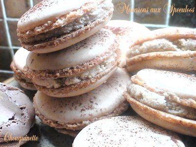 Rêves de Gourmandises: Macarons au Turron et Macarons au Speculoos