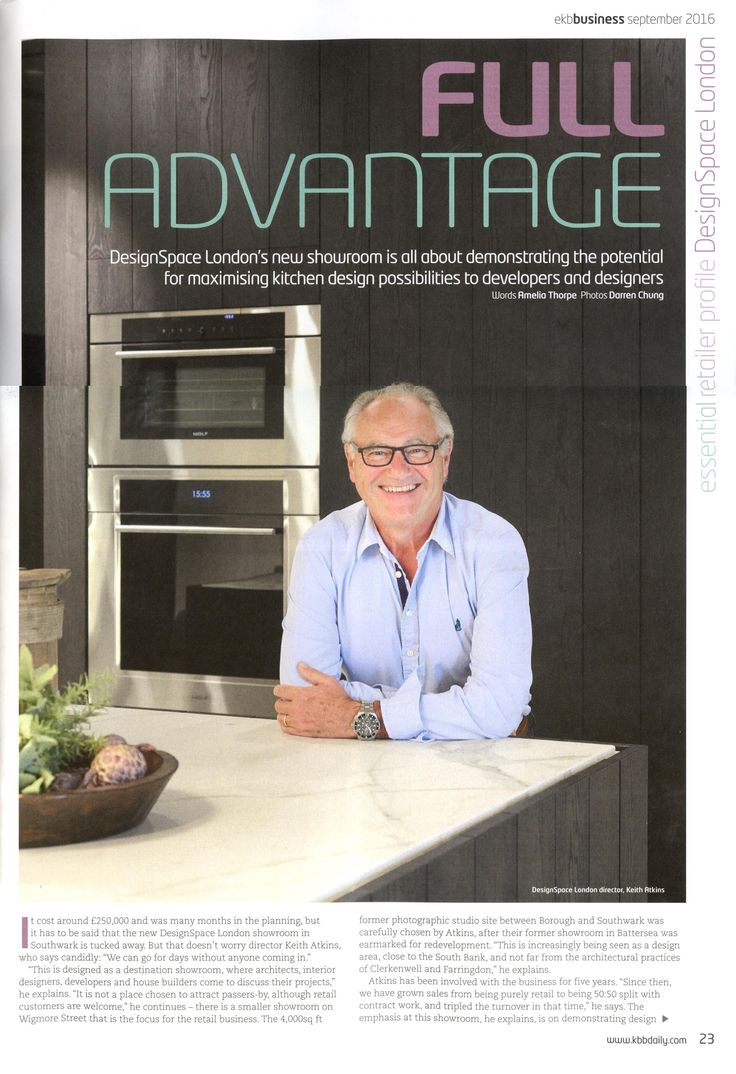 A fantastic article about DesignSpace London in Essential Kitchen   Bathroom  Business September 2016 issue 546 best DesignSpace London in the press images on Pinterest  . Essential Kitchen And Bathroom Business Magazine. Home Design Ideas