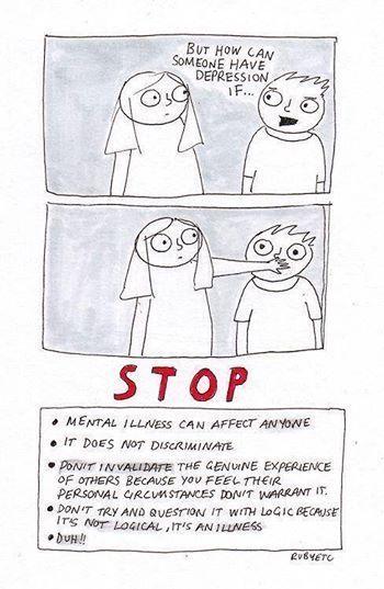 #depression #mentalhealth #mentalillness #stigma
