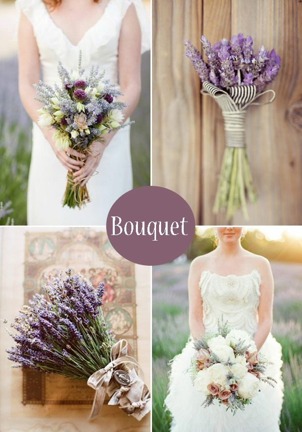 Lavender bouquet? Add yellow peonies?