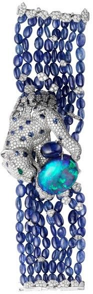 AMAZING CARTIER PANTHER AND OPAL BRACELET