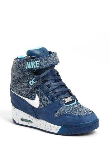 Women's Black Air Max Triax 94 Blue Trainers. Nike Wedge