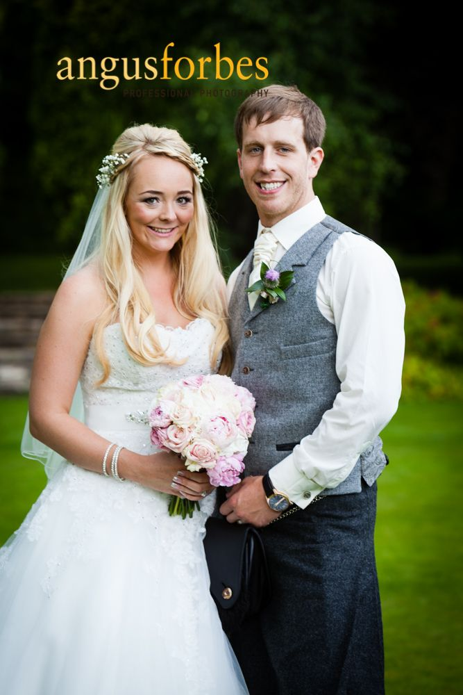 Wedding photography at Balbirnie House Hotel by Angus Forbes