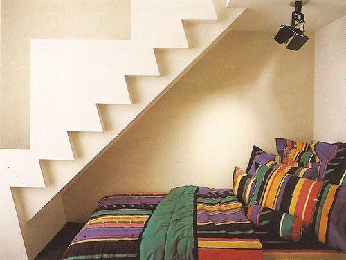 postmodern  interior design  80s  bedroom. 17 Best images about Inspiration  80s Design on Pinterest