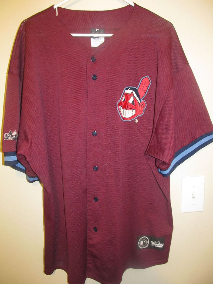 Cleveland Indians Authentic jersey - Majestic Adult X-large #Majestic #ClevelandIndians