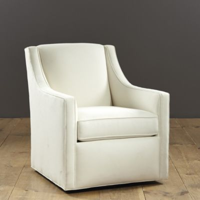 Carlyle Swivel ChairCarlyle Swivel Chair features:  Available in over 200 fabrics or send us your own Expertly upholstered in the USA $799-$1228
