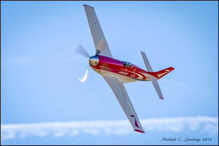 """P51 air racer """"Strega"""" at Reno in 2012"""