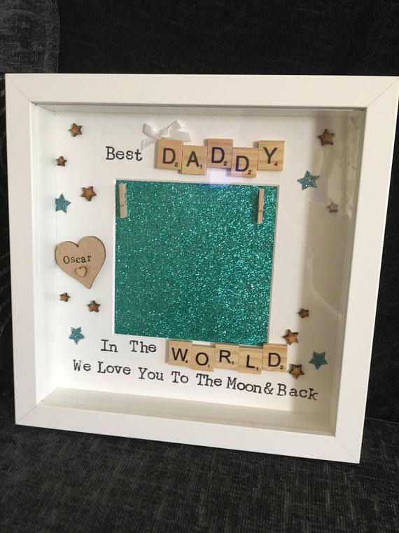 Daddy Photo Frame Keepsake For Dad Gift For Grandad Gift Diy Christmas Gifts For Dad Grandad Gift Christmas Presents For Dad