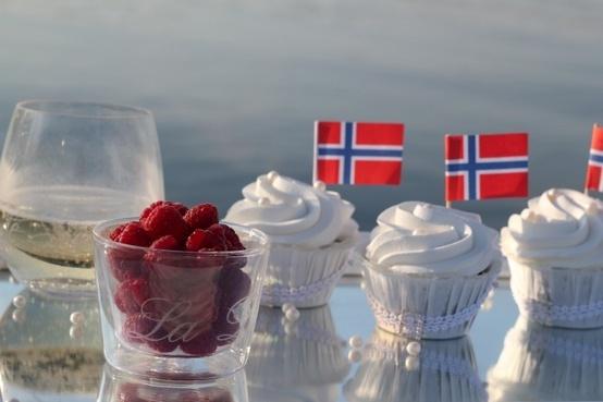 17.mai cupcakes. Norway.