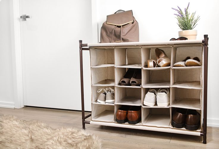 Need more shoe storage? No problem. This rack is designed to be modular. https://tidyliving.com/4-tier-shoe-organizer.html #TidyLiving #ShoeRack #ShoeStorage #Tidy