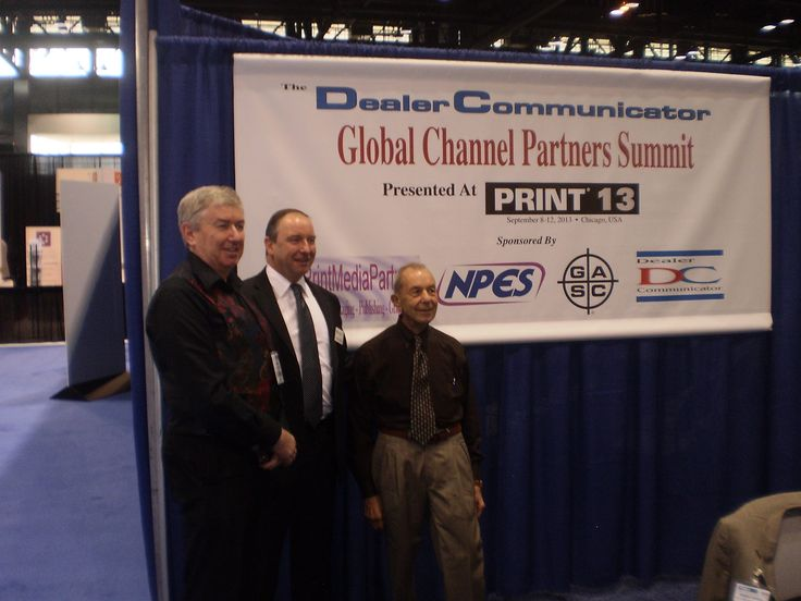 GlobalChannelPartners are proud once again to be exhibiting at Graph Expo (which together with PRINT is our annual home event) this year in Chicago on Booth No. 4457. This is another great opportunity for the GlobalPrintMediaChannel of manufacturers, distributors and dealers to come together to talk 'channel'.