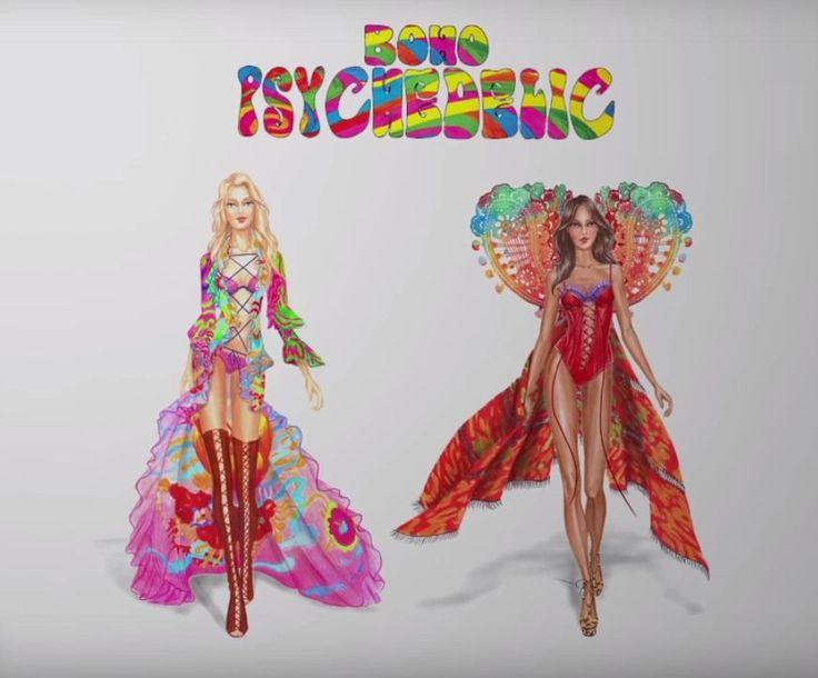 Wyciekły szkice kostiumów na pokaz Victoria's Secret 2015! Oto jeden z nich!