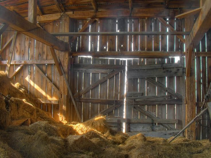 When I Walk Into An Old Barn A Calm Comes Over Me That Cant Explain Its Magical