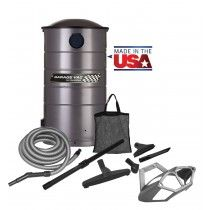 VacuMaid GV50PRO Professional Wall Mounted Utility Vacuum with 50 ft Hose and Tools!