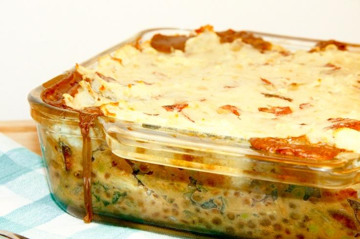 Lentil & Mushroom Shepherd's Pie with Mushroom Gravy. Now this is ...