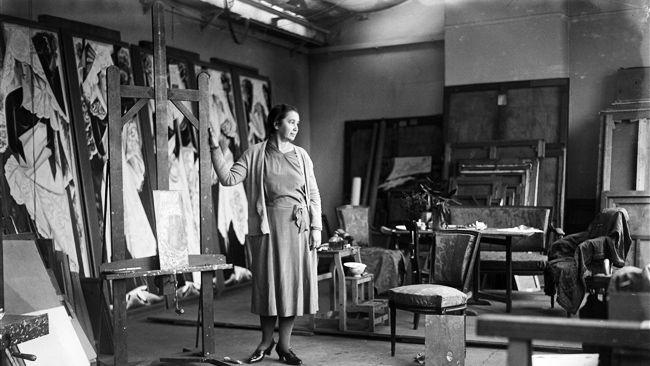 NATALIA GONCHAROVA (1881-1962).