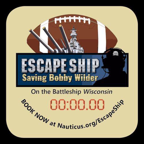 Escape Room Wisconsin Battleship
