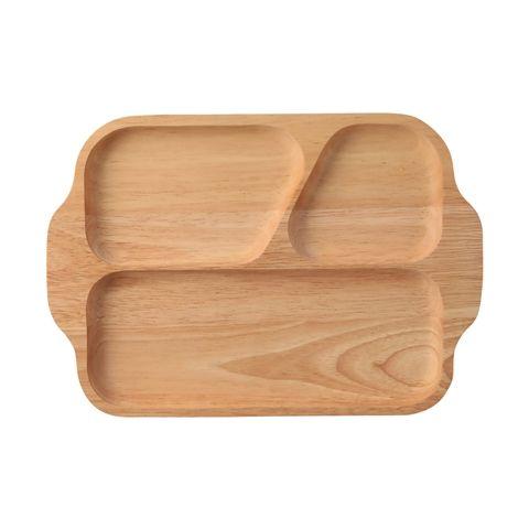 ウッデン セパレートプレート ナチュラル(ナチュラル) Francfranc(フランフラン)キッチン雑貨 皿・プレート