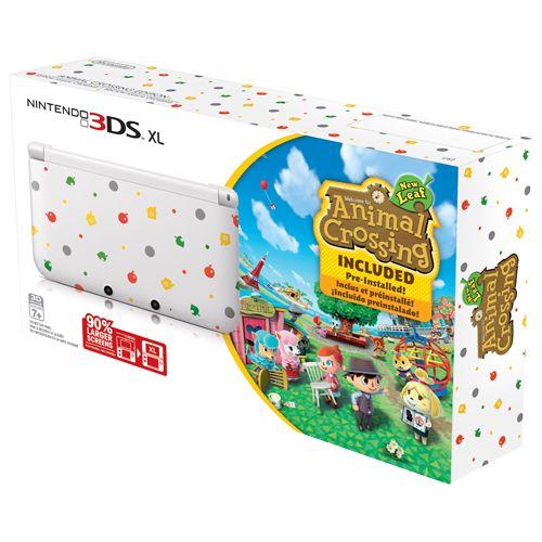 Nintendo 3DS XL Animal Crossing New Leaf Bundle