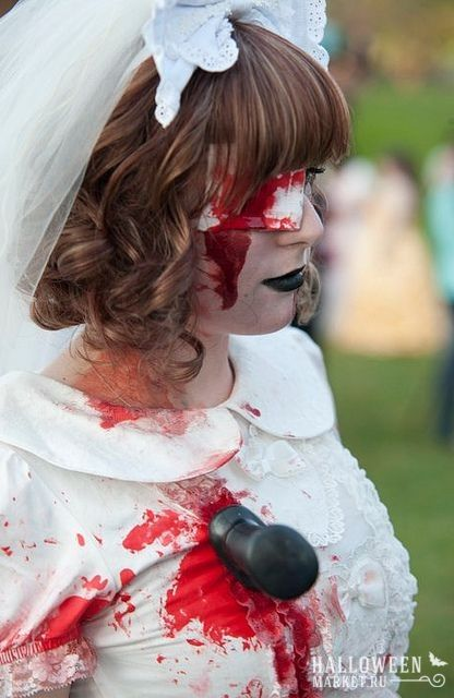 #zombie #bride #makeup #costume #halloweenmarket #halloween  #зомби #костюм #невеста #образ Костюм на хэллоуин: невеста зомби (фото)