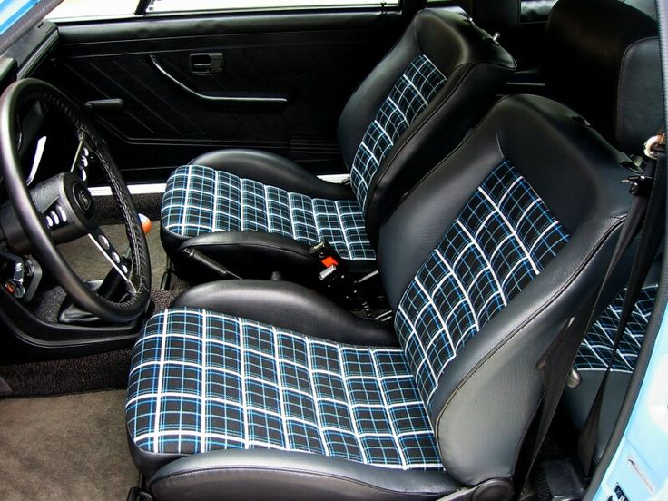 22 Best Images About Golf Mk1 Interior Seats On