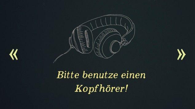 """In """"Blowback"""" orientiert sich der Hörer in akustischen Räumen.  (Deutschlandradio - Sandra Leidecker)"""