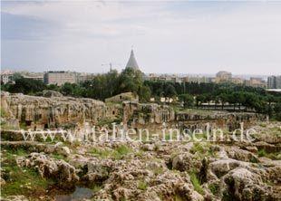 Archäologischer Park Neapolis in Siracusa - Syrakus auf Sizilien http://www.italien-inseln.de/siracusa/syrakus.html