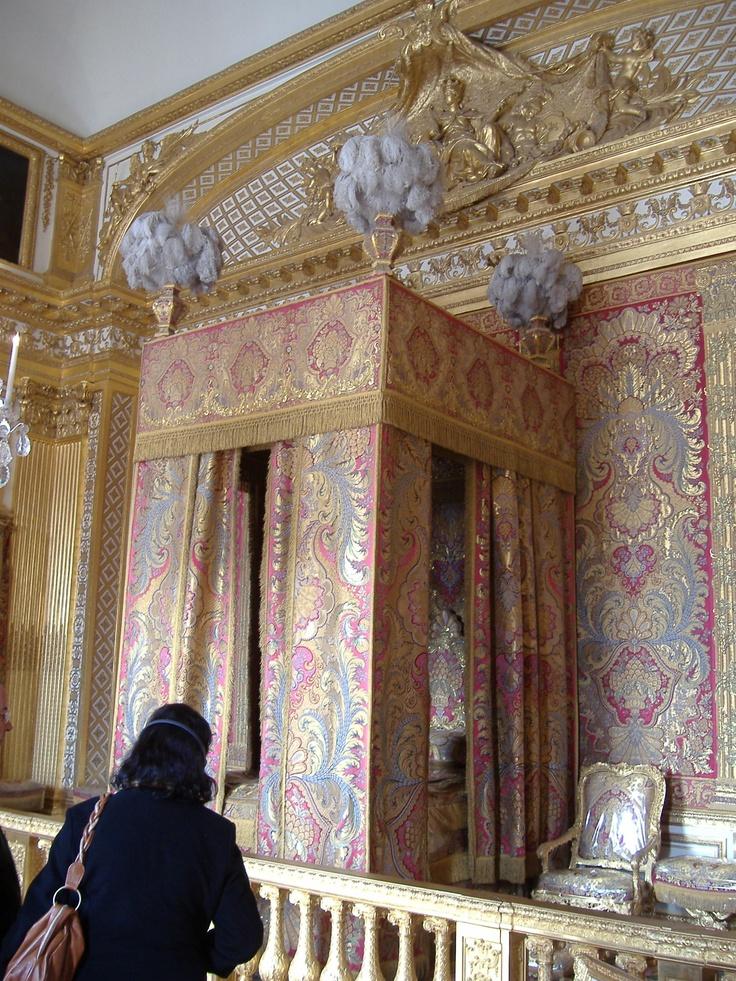 The king's bedchamber, Versailles